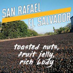 san rafael, el salvador coffee